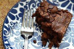 Фото рецепта: «Шоколадные брауни с кабачком»