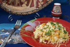 Фото рецепта: «Рис с курицей по-египетски»