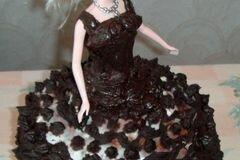 """Фото рецепта: «Торт """"Барби""""»"""