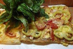 Фото рецепта: «Пицца куриная с болгарским перцем»