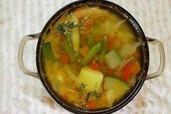 """Фото рецепта: «Суп """"Девять овощей""""»"""