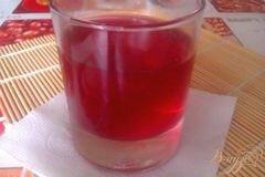 Фото рецепта: «Грушевый компот с вишней»