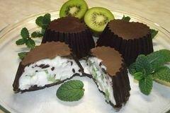 Фото рецепта: «Творожок в шоколаде.»
