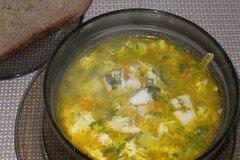 Фото рецепта: «Суп из судака по-польски»