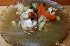 Фото рецепта: «Грибной суп с курицей»
