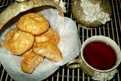 Фото рецепта: «Сырное соленое печенье»