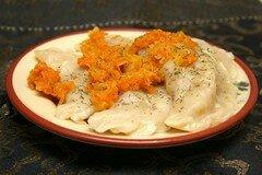 Фото рецепта: «Постные вареники с капустой»