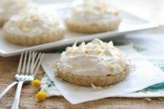 Фото рецепта: «Пирожное с бананово-кокосовой кремовой начинкой»