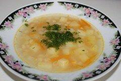 Фото рецепта: «Фасолевый суп на индюшатине»