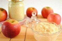 Фото рецепта: «Яблочное пюре Неженка»