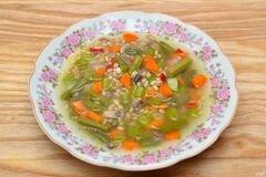 Фото рецепта: «Суп с перловой крупой»