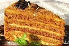 Фото рецепта: «Медовый торт на скорую руку»