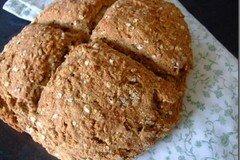 Фото рецепта: «Ирландский хлеб на соде»