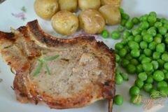 Фото рецепта: «Свиные отбивные на гриле»