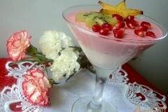 Фото рецепта: «Сливочно-ягодный десерт»