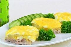 Фото рецепта: «Свинина с ананасами»