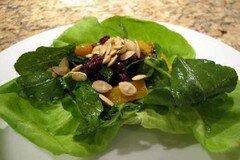 Фото рецепта: «Тыквенно - виноградный салат»