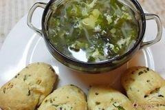 Фото рецепта: «Суп весенний из зелени»