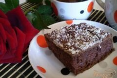 Фото рецепта: «Шоколадный быстрый пирог»