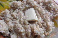 Фото рецепта: «Ароматная ячневая каша со сливочным маслом»