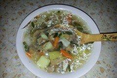 Фото рецепта: «Грибной суп с галушками»