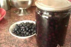 Фото рецепта: «Черника в легком сиропе на зиму»