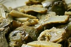 Фото рецепта: «Тушеные артишоки»