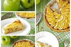 Фото рецепта: «Яблочно-банановый пирог»