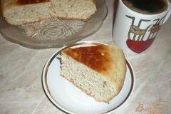 Фото рецепта: «Пирог на сыворотке с овсяными отрубями»