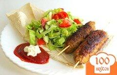 Фото рецепта: «Люля-кебаб на сковороде»