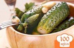 Фото рецепта: «Соленые огурцы холодным способом»