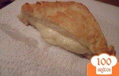 """Фото рецепта: «Mozzarella in carrozza - """"моцарелла в карете""""»"""