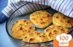 Фото рецепта: «Запечёные картофельно-творожные котлеты»