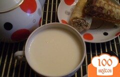 Фото рецепта: «Чай с молоком»