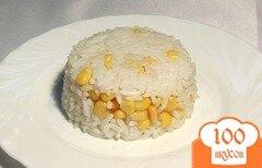 Фото рецепта: «Рис с кукурузой»