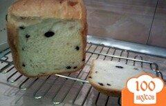 Фото рецепта: «Хлеб с медом и изюмом в хлебопечке»