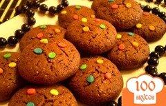Фото рецепта: «Шоколадное печенье с корицей»