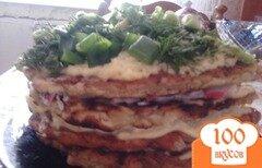Фото рецепта: «кабачковый тортик от моей мамы»