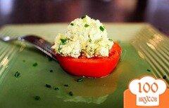 Фото рецепта: «Салат из помидоров и яиц»