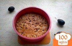 Фото рецепта: «Нежный сливовый пирог»