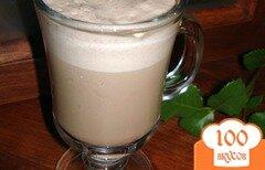 "Фото рецепта: «Кофейно-шоколадный напиток "" Белочка"" с орехами»"