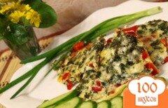 Фото рецепта: «Гювеч с брынзой и сладким перцем»