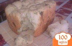 Фото рецепта: «Обезьяний хлеб с укропом и чесноком в хлебопечке»