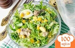 Фото рецепта: «Салат из сардины в масле»