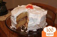 Фото рецепта: «Грейпфрутовый торт»