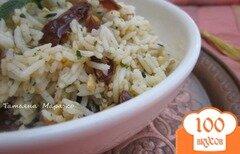 Фото рецепта: «Рисовый гарнир с финиками и орешками»