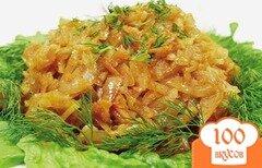 Фото рецепта: «Тушеная квашеная капуста в мультиварке»