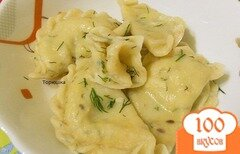 Фото рецепта: «Вареники с картофелем»