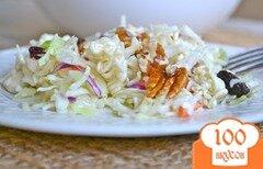 Фото рецепта: «Капустный салат с лапшой»
