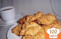 Фото рецепта: «Сырные оладушки с хлопьями»